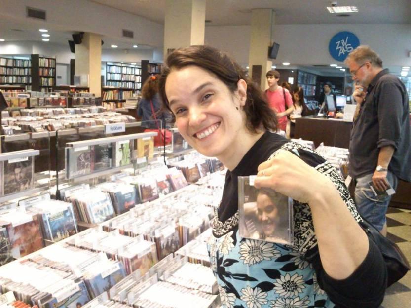 Gabriela Carel disquería