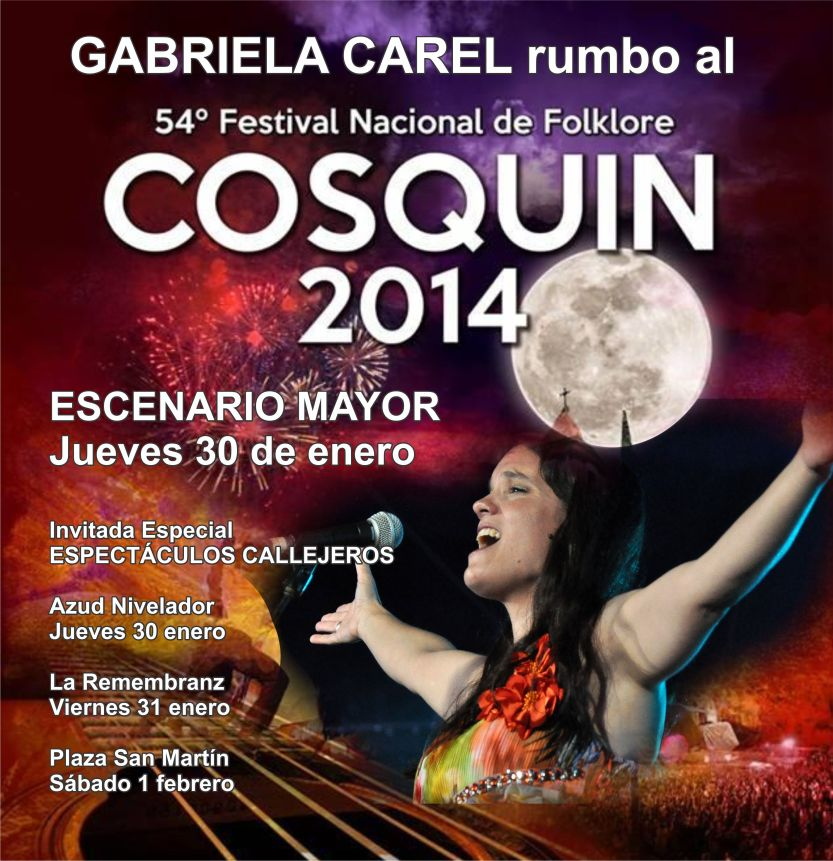 Cosquín 2014 ESCENARIO MAYOR